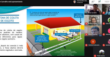 Águas Guariroba debate saneamento e ações de enfrentamento ao Covid-19 para alunos da UFTM